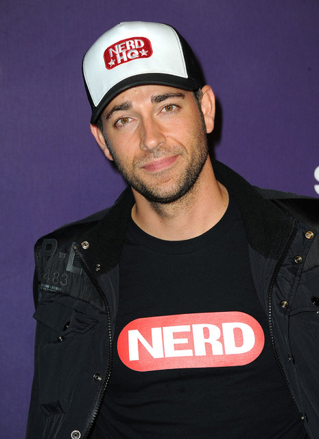 "Zachary Levi is also Comic-Con royalty, and not just because he played the lead on NBC's cult series Chuck. He hosts the Nerd HQ pop up at Comic-Con every year, which describes itself as ""a free nerdy hangout"". Photo: Actor Zachary Levi arrives at SyFy/E! Comic-Con Party at Hotel Solamar on July 23, 2011 in San Diego, California. (Photo by Frazer Harrison/Getty Images)"