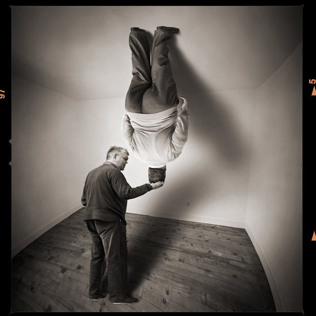 One, two, three, and I release you. Photo Art by Yves Lecoq