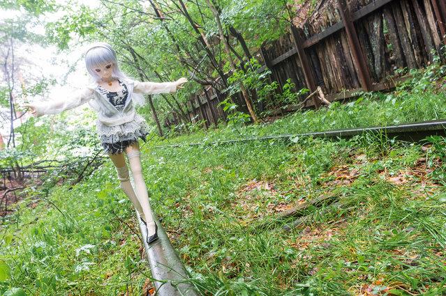 Abolished Railway. Model: DollfieDream Rina Ogata