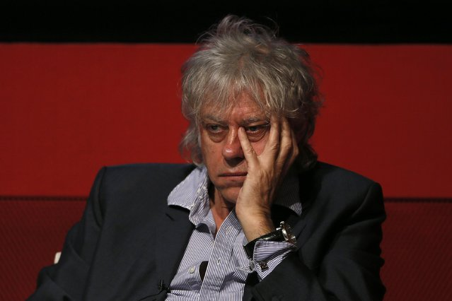 Singer Bob Geldof attends a media launch of the Africa Progress Report 2014 in London, in this May 8, 2014 file photo. (Photo by Stefan Wermuth/Reuters)