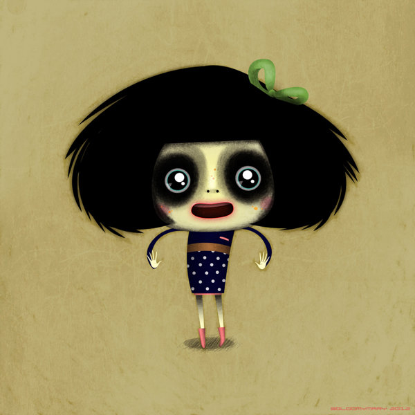 Funny Character Designs By Marie Breuer