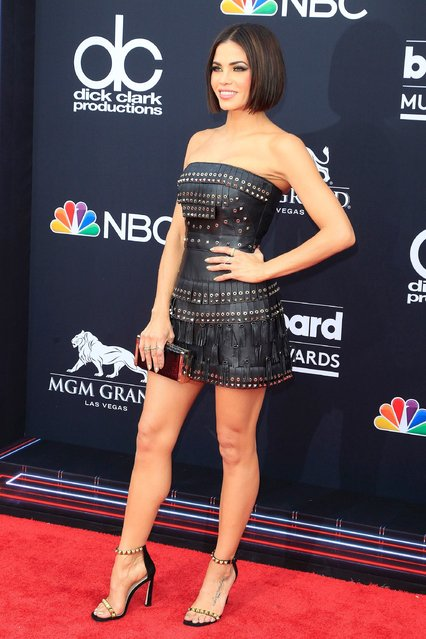 Actress Jenna Dewan attends the 2018 Billboard Music Awards 2018 at the MGM Grand Resort International on May 20, 2018 in Las Vegas, Nevada. (Photo by Nina Prommer/EPA/EFE/Rex Features/Shutterstock)