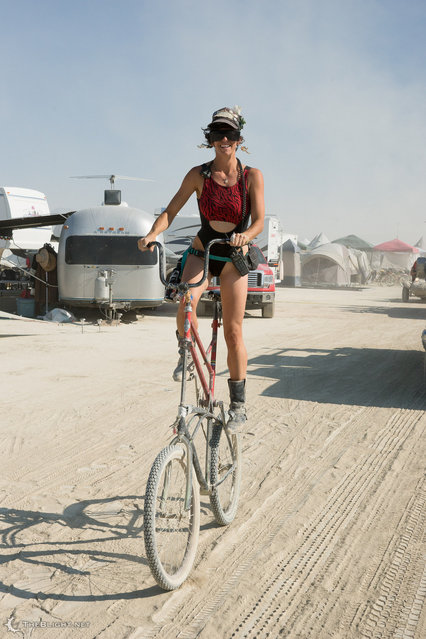 DPW Parade, Burning Man 2013. (Photo by Neil Girling)