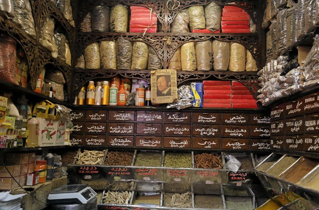 General view of a herbal store in Cairo, Egypt January 10, 2017. (Photo by Mohamed Abd El Ghany/Reuters)