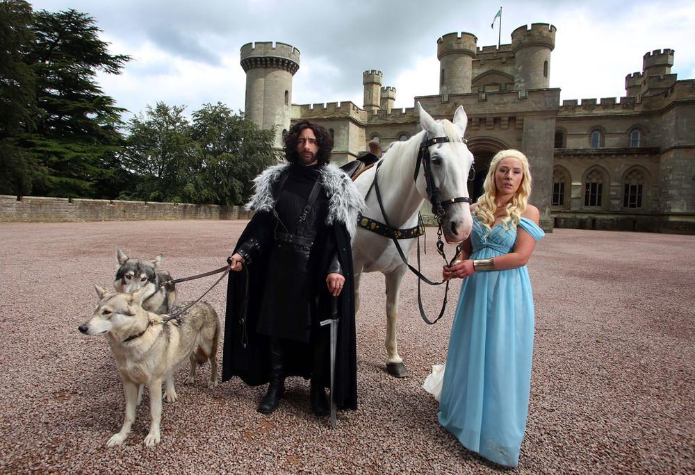 Game of Thrones Fan Wedding
