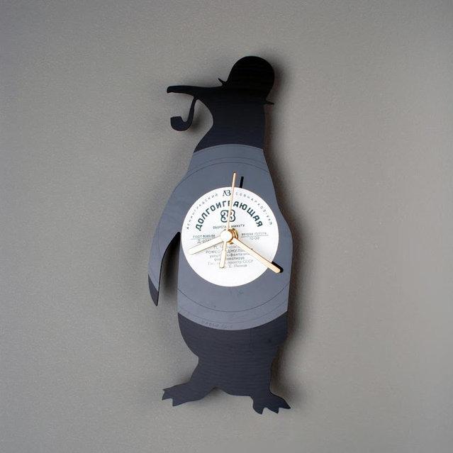 Vinyl Clock By Pavel Sidorenko Part 1