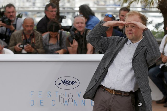 "Cast member Toby Jones poses during a photocall for the film ""Tale of Tales"" in competition at the 68th Cannes Film Festival in Cannes, southern France, May 14, 2015. (Photo by Benoit Tessier/Reuters)"