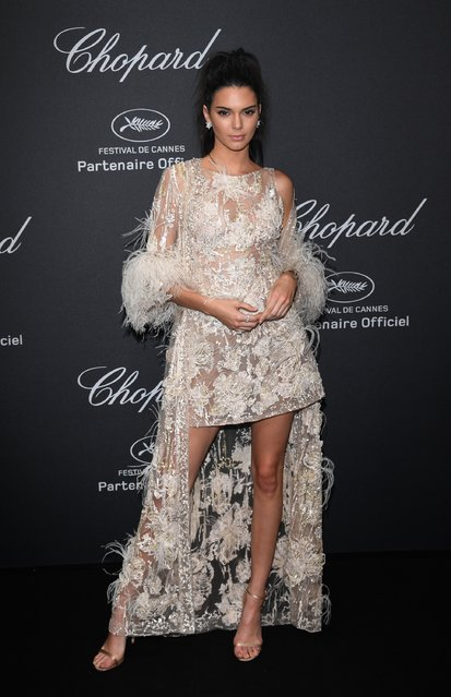 Kendall Jenner attends Chopard Wild Party as part of The 69th Annual Cannes Film Festival at Port Canto on May 16, 2016 in Cannes, France. (Photo by Daniele Venturelli/Getty Images)