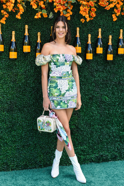 Kendall Jenner attends The Tenth Annual Veuve Clicquot Polo Classic – Arrivals at Liberty State Park on June 3, 2017 in Jersey City, New Jersey. (Photo by Presley Ann/PMC)