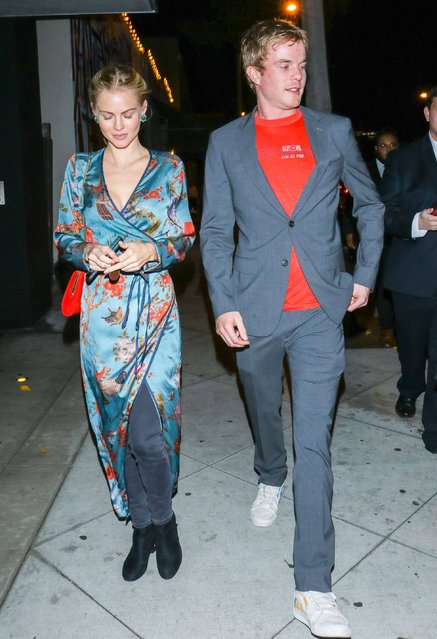 Graham Rogers out and about, outside Cecconi's West Hollywood in Los Angeles, USA on January 4, 2020. (Photo by Rex Features/Shutterstock)