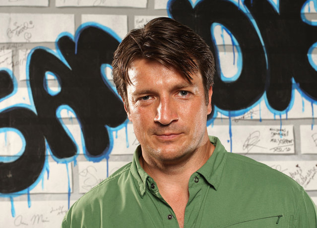 Nathan Fillion is a huge fellow nerd not so much for his role on Castle, but thanks to his work in the universe of Joss Whedon, on projects such as Firefly, Serenity, and Dr. Horrible's Sing-Along Blog. Fillon explained that he and the Avengers director are friends in real life, too. (Photo by Michael Bezjian/WireImage)
