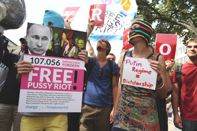 Free p*ssy Riot!