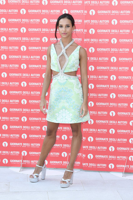 Kenyan-English ballet dancer and actress Francesca Hayward attends the photocall of the Miu Miu Women's Tales at the 77th Venice Film Festival on September 06, 2020 in Venice, Italy. (Photo by Daniele Venturelli/WireImage)