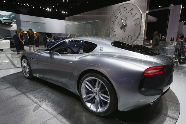 The Maserati Alfieri concept car is shown at the Los Angeles Auto Show in Los Angeles, California November 19, 2014. (Photo by Mario Anzuoni/Reuters)