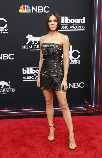 Jenna Dewan attends the 2018 Billboard Music Awards at MGM Grand Garden Arena on May 20, 2018 in Las Vegas, Nevada. (Photo by Steve Marcus/Reuters)