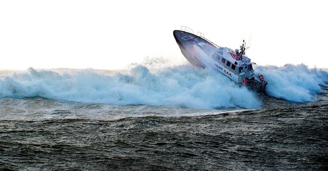 Safehaven Marine builds search-and-rescue vessels at Youghal in east Cork. (Photo by PA Wire)