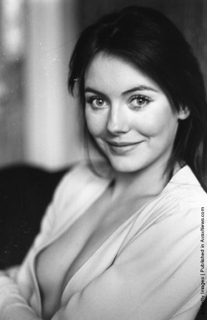 British actress Lesley-Anne Down, 1971