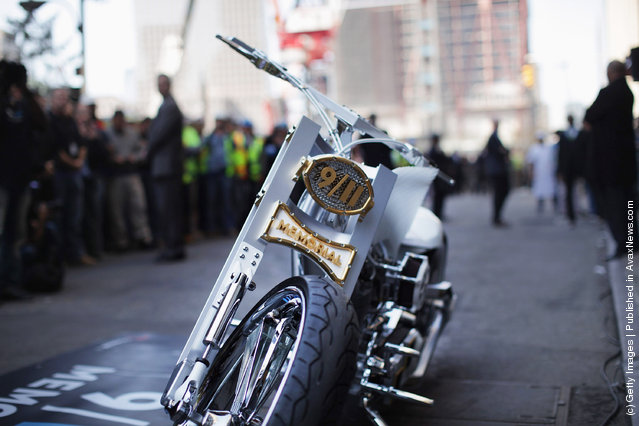 World Trade Center inspired motorcycle