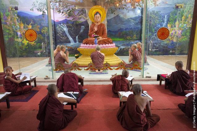 Monastic Life in Myanmar
