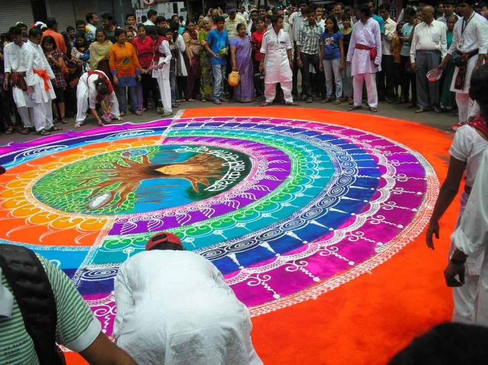Rangoli Folk Art from India