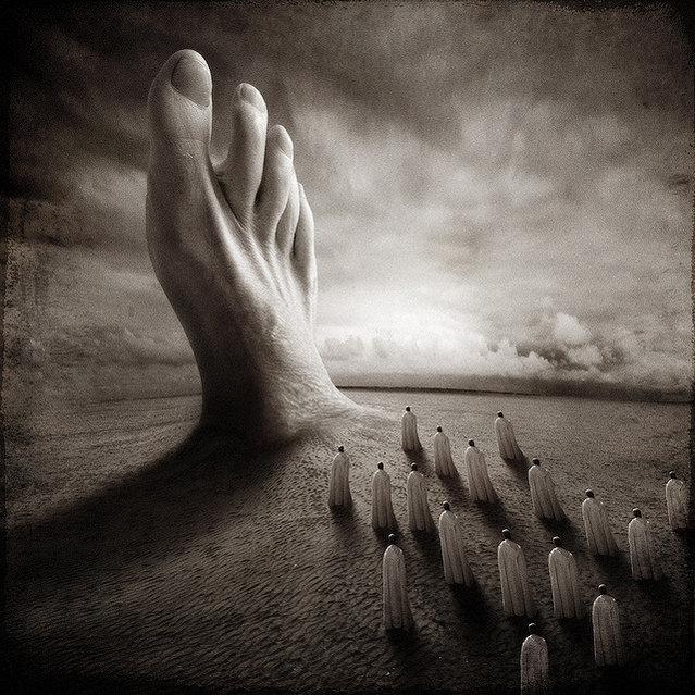The Big Revelation. Photo Art by Yves Lecoq