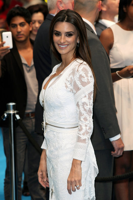 """Actress Penelope Cruz attends the UK Film Premiere of """"Pirates of the Caribbean 4: On Stranger Tides"""" at Vue Westfield on May 12, 2011 in London, England. (Photo by Tim Whitby/Getty Images)"""