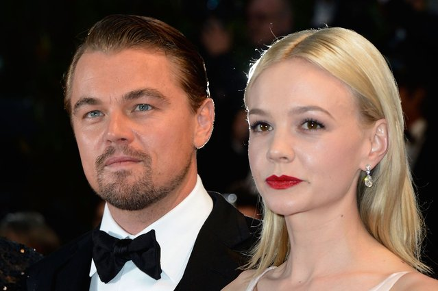 """Leonardo DiCaprio and Carey Mulligan attend the Opening Ceremony and """"The Great Gatsby"""" Premiere during the 66th Annual Cannes Film Festival at the Theatre Lumiere on May 15, 2013 in Cannes, France. (Photo by Pascal Le Segretain/Getty Images)"""