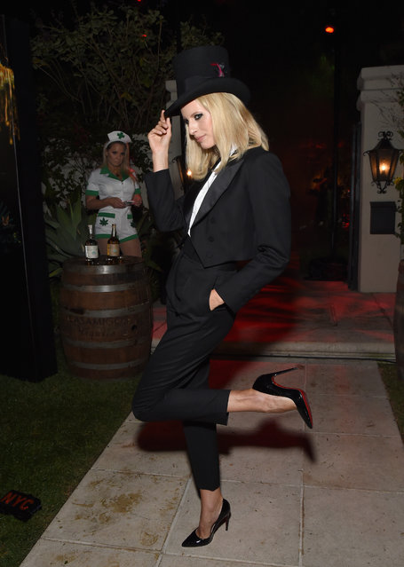 Karolina Kurkova attends the Casamigos Halloween Party on October 26, 2018 in Beverly Hills, California. (Photo by Michael Kovac/Getty Images for Casamigos)