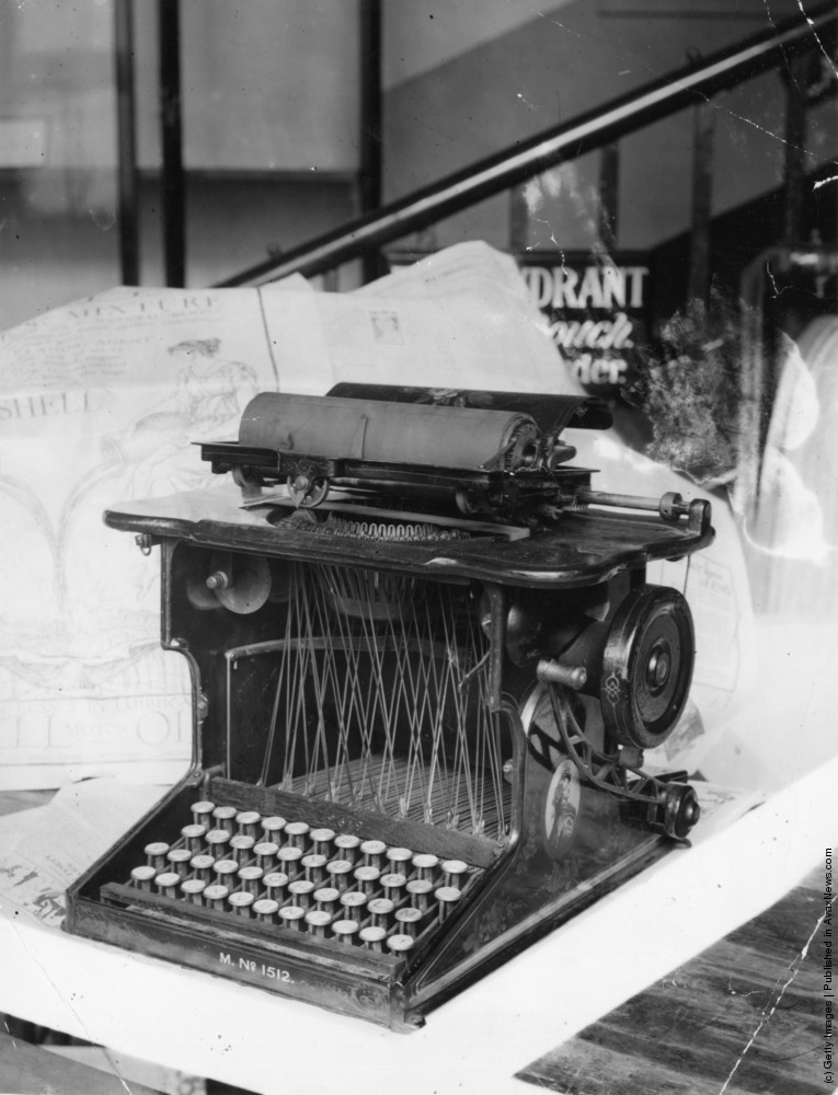 Looking Back On Typewriters