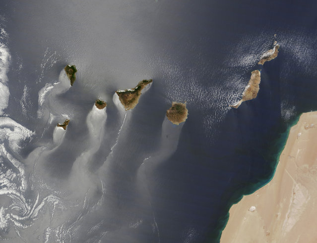 Canary Islands. (Photo by NASA)