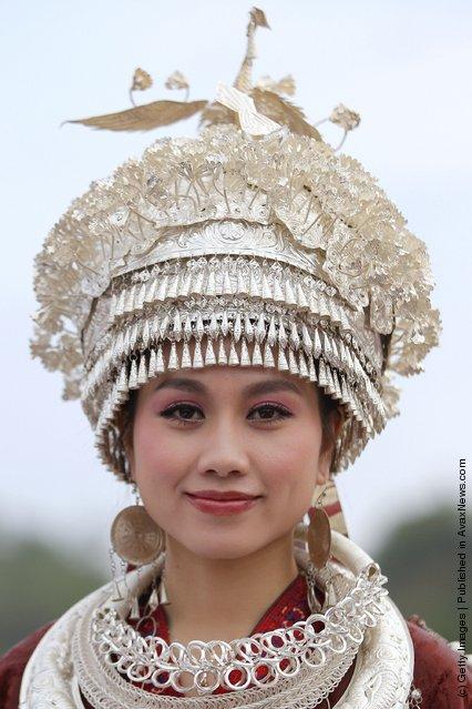 A Miao ethnic minority woman