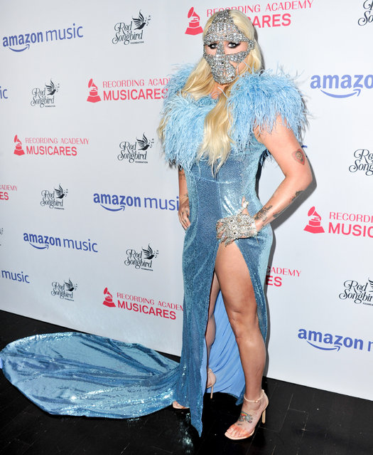 Kesha attends the MusiCares Concert For Recovery presented by Amazon Music, Honoring Macklemore at The Novo by Microsoft on May 16, 2019 in Los Angeles, California. (Photo by Allen Berezovsky/Getty Images)