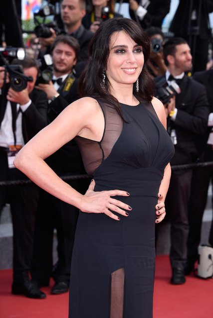 """Director Nadine Labaki attends the closing ceremony and Premiere of """"La Glace Et Le Ciel"""" (Ice And The Sky) during the 68th annual Cannes Film Festival on May 24, 2015 in Cannes, France. (Photo by Clemens Bilan/Getty Images)"""
