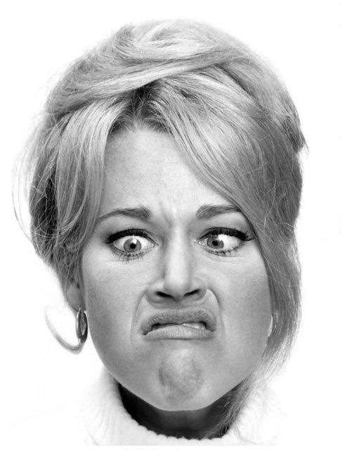 Jane Fonda, Studio Willy Rizzo, Paris, 1966. (Photo by Willy Rizzo)