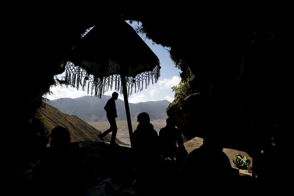 Kasada Festival at Mount Bromo in Indonesia