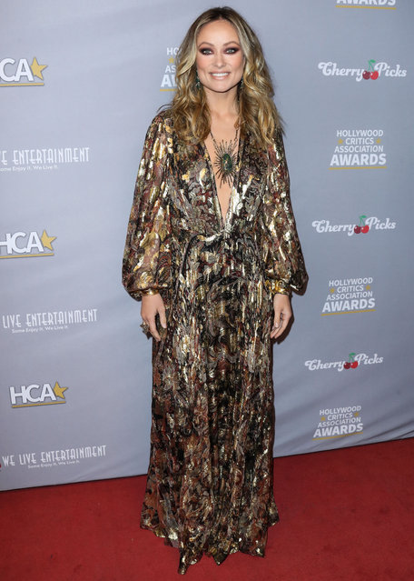 3rd Annual Hollywood Critics' Awards held at the Taglyan Cultural Complex on January 9, 2020 in Hollywood, Los Angeles, California, United States on January 9, 2020. Pictured: Olivia Wilde. (Photo by Xavier Collin/Image Press Agency/The Mega Agency)