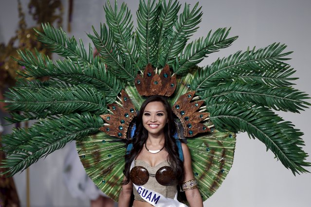 Loriann Rabe representing Guam poses in her national dress during the 55th Miss International Beauty Pageant in Tokyo, Japan, November 5, 2015. (Photo by Toru Hanai/Reuters)
