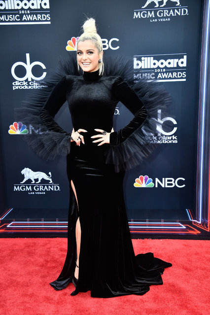 Recording artist Bebe Rexha attends the 2018 Billboard Music Awards at MGM Grand Garden Arena on May 20, 2018 in Las Vegas, Nevada. (Photo by Frazer Harrison/Getty Images)