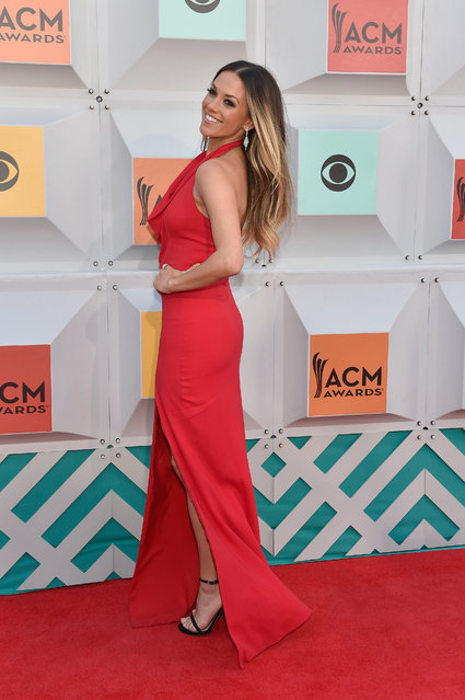 Singer Jana Kramer attends the 51st Academy of Country Music Awards at MGM Grand Garden Arena on April 3, 2016 in Las Vegas, Nevada. (Photo by David Becker/Getty Images)
