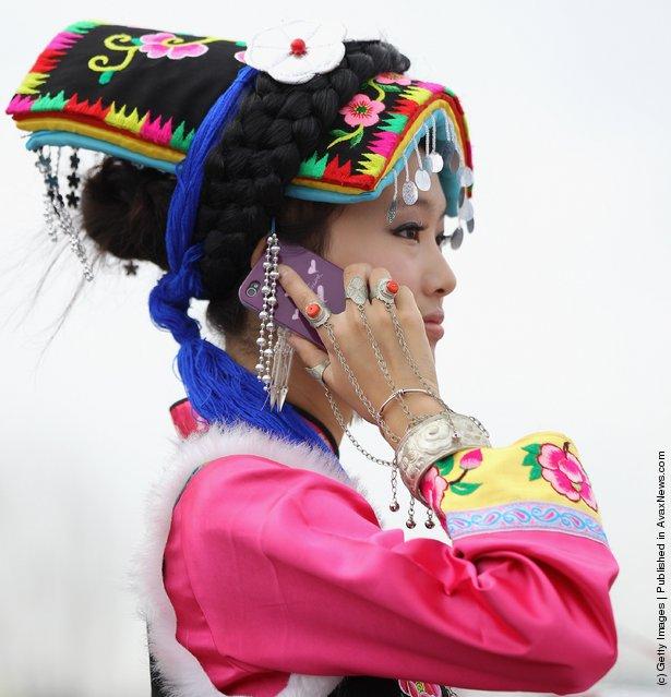 The ethnic minority dancer