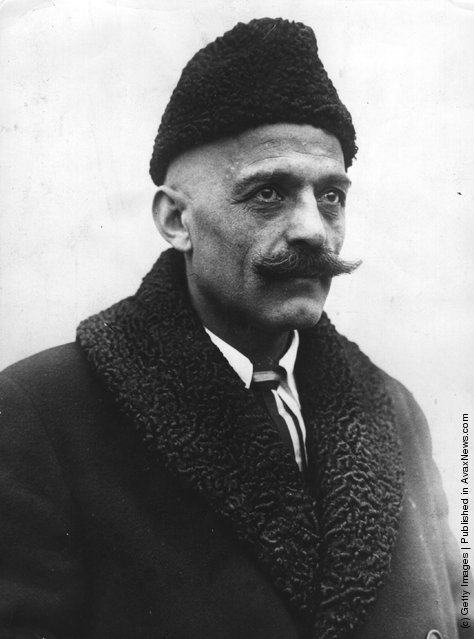 Russian philosopher George Ivanovitch Gurdjieff, 1931