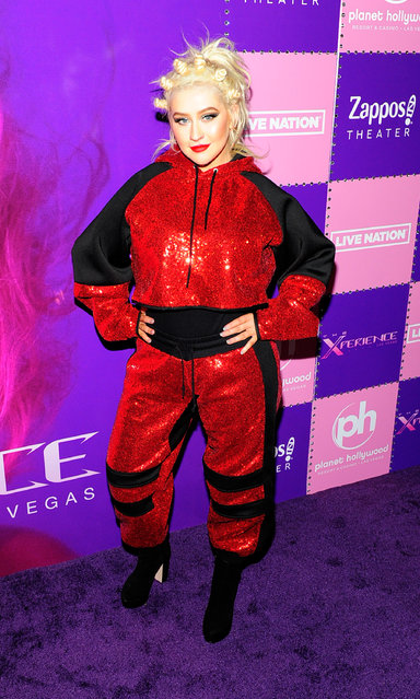 """Singer/songwriter Christina Aguilera attends the grand opening of her """"Christina Aguilera: The Xperience"""" residency at Planet Hollywood Resort & Casino on May 31, 2019 in Las Vegas, Nevada. (Photo by Steven Lawton/Getty Images)"""