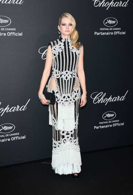 Lottie Moss attends Chopard Wild Party as part of The 69th Annual Cannes Film Festival at Port Canto on May 16, 2016 in Cannes, France. (Photo by Daniele Venturelli/Getty Images)