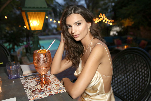Actress/Model Emily Ratajkowski's celebrates her 25th birthday at the private residence of Absolut Elyx CEO Jonas Tahlin on June 10, 2016 in Los Angeles, California. (Photo by Rachel Murray/Getty Images for Absolut Elyx)