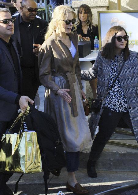 Nicole Kidman is seen in Los Angeles, California on January 4, 2020. (Photo by STAR MAX/X17/SIPA Press)