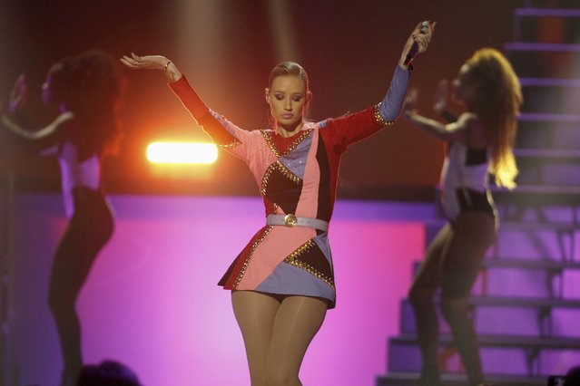 Australian recording artist Iggy Azalea performs during the 2014 iHeartRadio Music Festival in Las Vegas September 20, 2014. (Photo by Steve Marcus/Reuters)