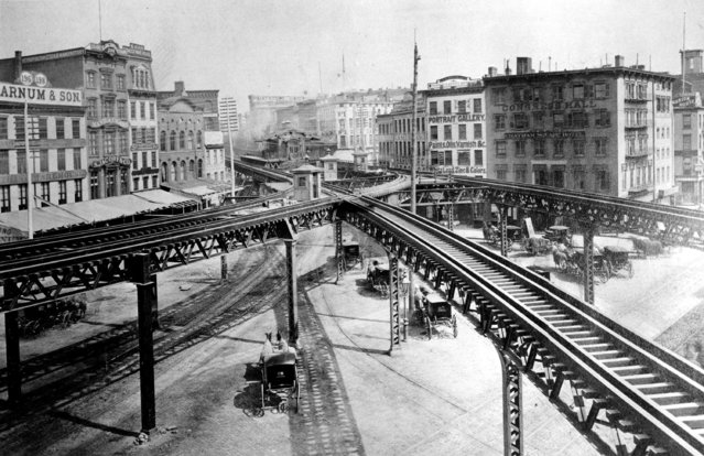Chatham Square Subway Map.Historical Images Of New York City Subway