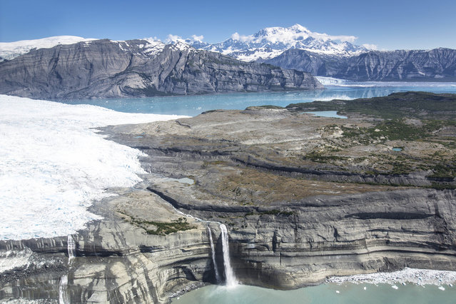 Wrangell-St. Elias National Park and Preserve. (Photo by Caters News)