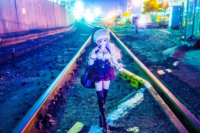 """Mix Light Night"". Location: Kawasaki, Japan. (Photo and caption by AZURE)"