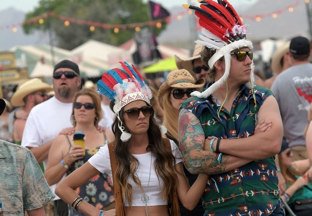General view at Country Thunder USA – Day 3 on April 11, 2015 in Florence, Arizona. (Photo by Rick Diamond/Getty Images for Country Thunder USA)
